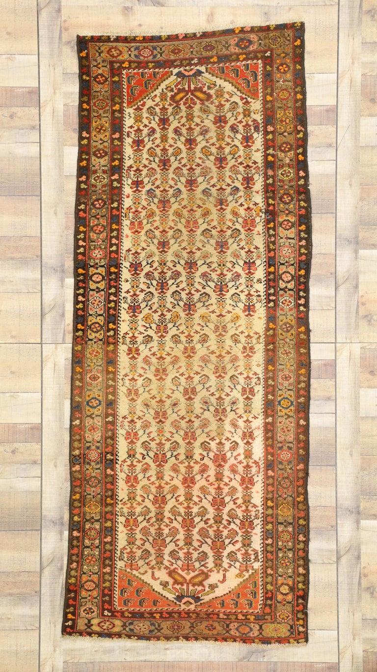 Antique Persian Malayer Runner, Hallway Runner For Sale 1