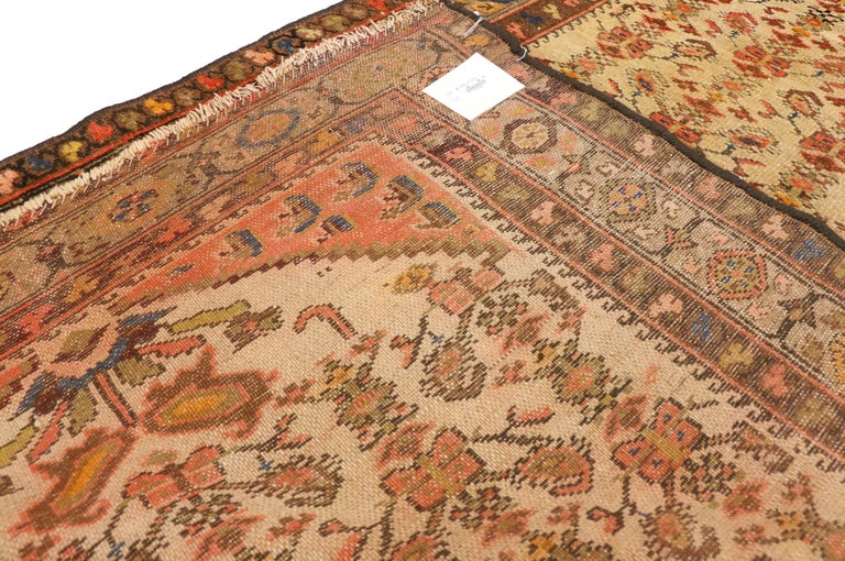 20th Century Antique Persian Malayer Runner, Hallway Runner For Sale