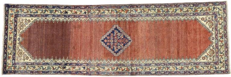 Antique Persian Malayer Runner, Hallway Runner For Sale 2