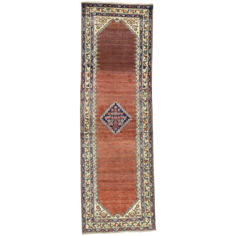 Antique Persian Malayer Runner, Hallway Runner For Sale