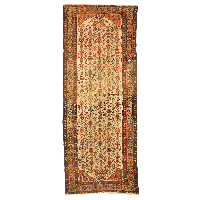 Antique Persian Malayer Runner, Hallway Runner