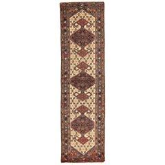 Antique Persian Malayer Runner Rug, circa 1920