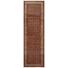 Antique Persian Malayer Runner Rug. Size: 5 ft 2 in x 16 ft 7 in