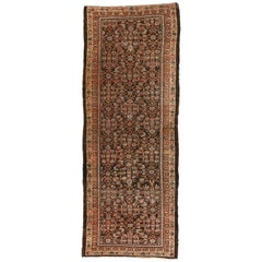 Antique Persian Malayer Runner, Wide Hallway Carpet Runner