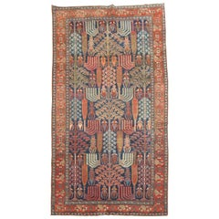 Antique Persian Malayer Willow Tree Rug