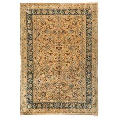 Antique Persian Mashad Carpet, circa 1940s