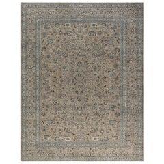 Antique Persian Meshad Carpet
