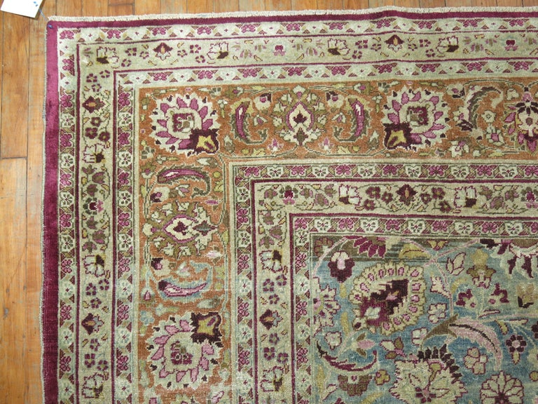 Khorassan Antique Persian Meshed Rug For Sale