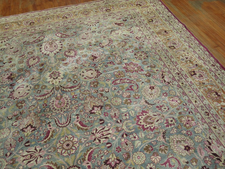 20th Century Antique Persian Meshed Rug For Sale