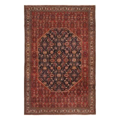 Antique Persian Mishan Malayer Rug