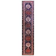 Antique Persian Rug Azerbaijan Design with Magnificent Jewel Patterns circa 1900