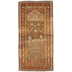 Antique Persian Rug Ghafghaz Style with Ancient Tribal Design, circa 1920s