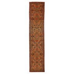 Antique Persian Rug Malayer Style with Grand 'Flower Field' Design, circa 1920s