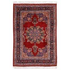 Antique Persian Rug, Mashad, 20th Century