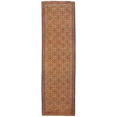 Antique Persian Runner Rug Ardabil Design