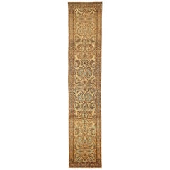 Antique Persian Runner Rug Azarbaijan Design