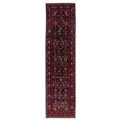 Antique Persian Runner Rug Azerbaijan Design