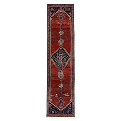 Antique Persian Runner Rug Bijar Design