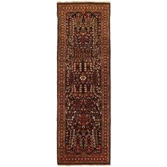 Antique Persian Runner Rug Farahan Design