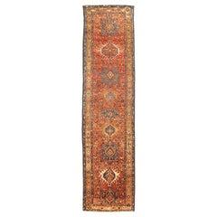 Antique Persian Runner Rug Karajeh Design