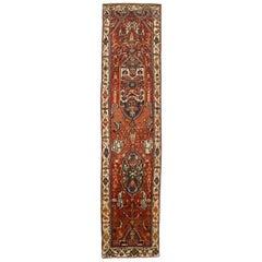 Antique Persian Runner Rug Malayer Design