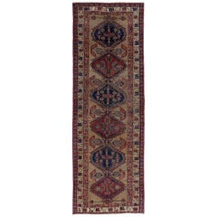 Antique Persian Runner Rug Sarab Design
