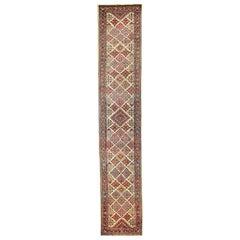 Antique Persian Runner Rug Sarouk Design