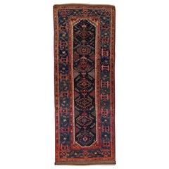Antique Persian Runner Rug Shiraz Design