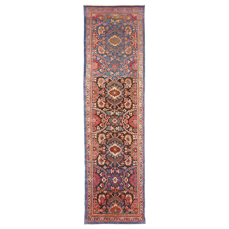 Antique Persian Runner Rug Sultanabad Design