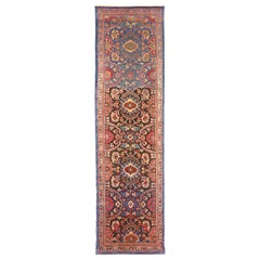 Antique Persian Runner Rug Sultanabad Design