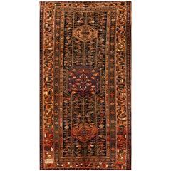 Antique Persian Rust or Blue Rug