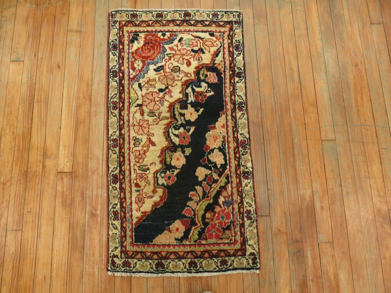 Antique Persian Sampler Rug In Excellent Condition For Sale In New York, NY