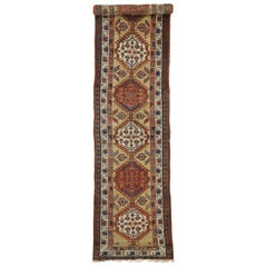 Antique Persian Sarab Runner, Long Hallway Runner