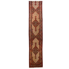 Antique Persian Sarab Runner Rug