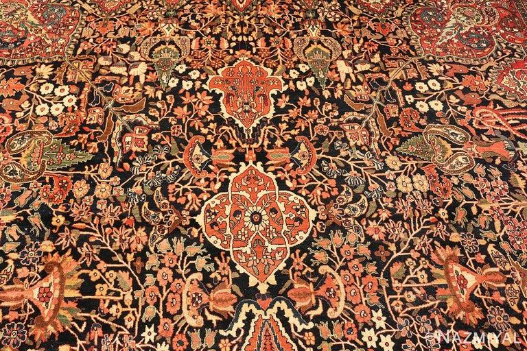Antique Persian Sarouk Farahan Rug For Sale 5