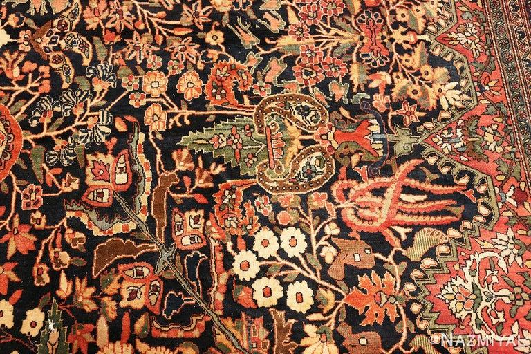 Antique Persian Sarouk Farahan Rug For Sale 6