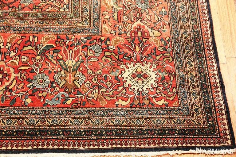 Antique Persian Sarouk Farahan Rug For Sale 3