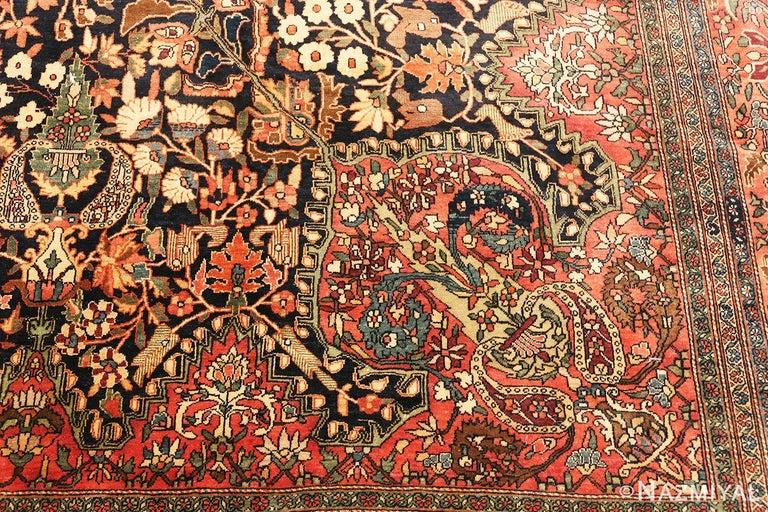 Antique Persian Sarouk Farahan Rug For Sale 4