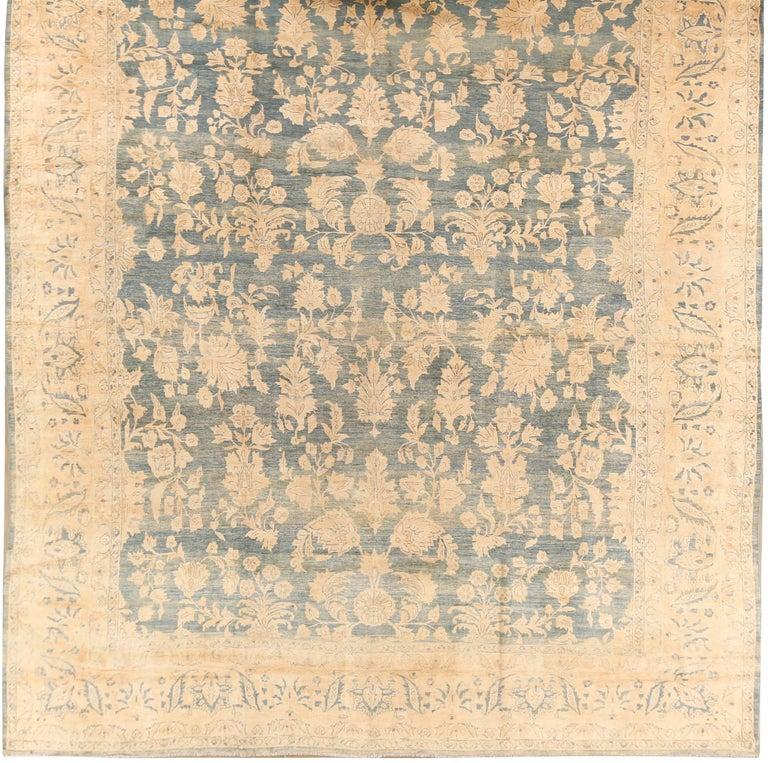 Hand-Woven Antique Persian Sarouk Rug, circa 1900 For Sale