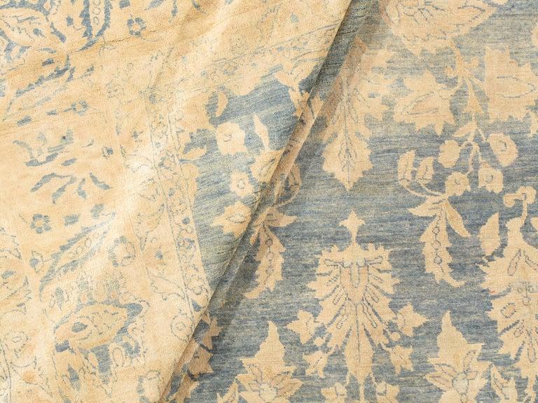 Wool Antique Persian Sarouk Rug, circa 1900 For Sale