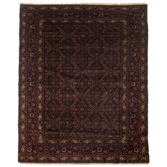 Antique Persian Senneh Rug, circa 1900 One of a Pair