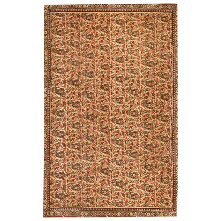 Antique Persian Senneh Rug For Sale