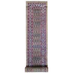 Antique Persian Serab Camel Hair Full Pile Exc Cond Handmade Wool XL Runner Rug