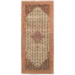 Antique Persian Serab Camel Hair Rug, circa 1900