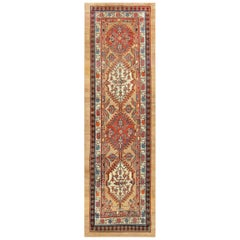 Antique Persian Serab Runner Rug. Size: 4 ft x 12 ft 10 in (1.22 m x 3.91 m)