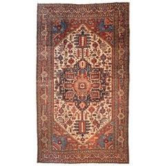 Antique Persian Serapi Carpet, circa 1875-1880