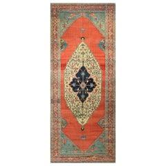 Antique Persian Serapi Rug Carpet, circa 1890 7'7 x 17'8