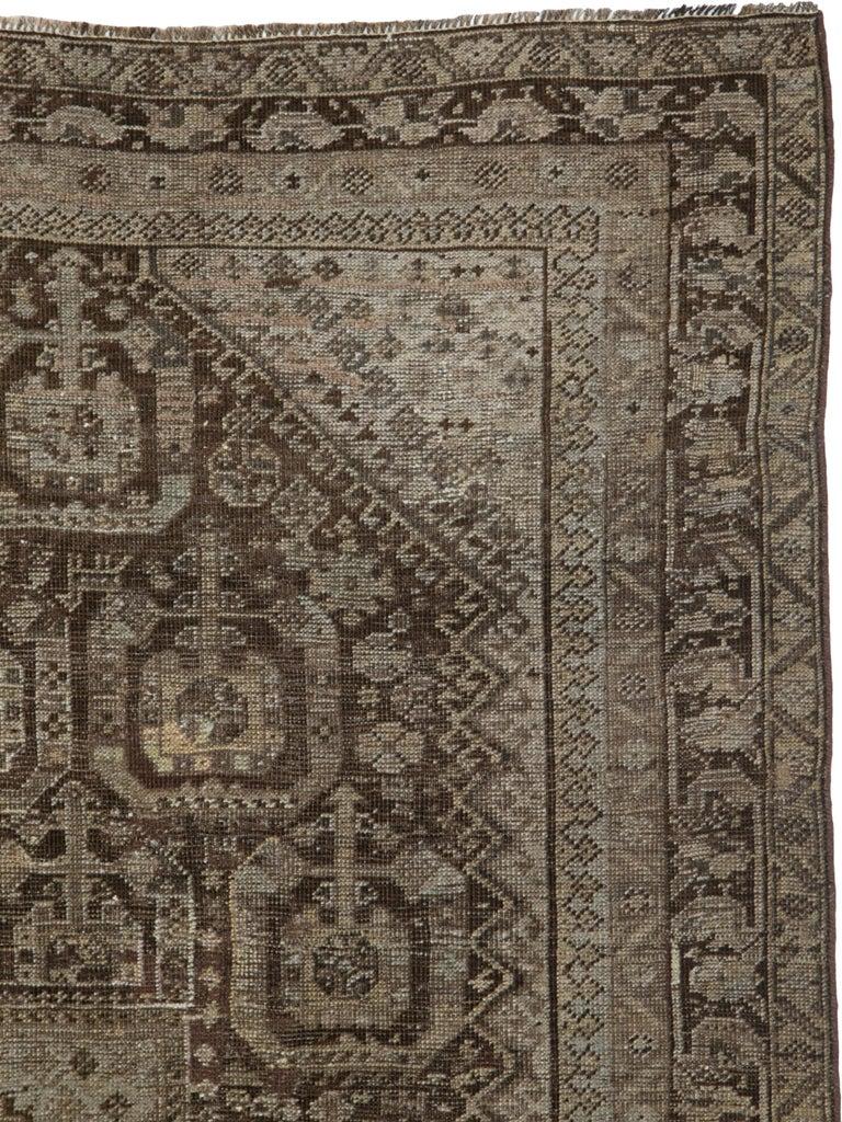 Tribal Antique Persian Shiraz Rug For Sale
