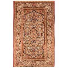 Antique Persian Silk Rashti Embroidery