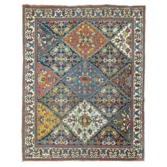 Antique Persian Square Rug